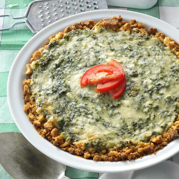 Spinach Pie Parma