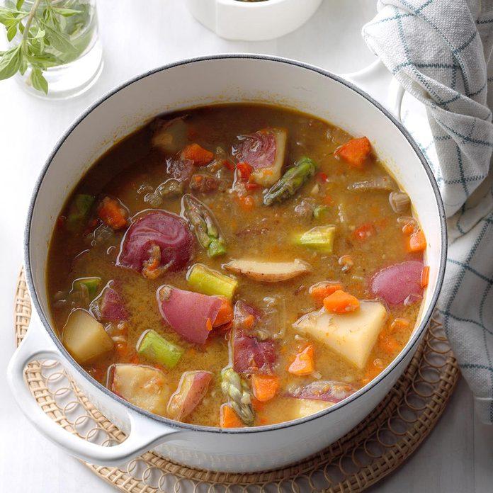 Spring Essence Soup With Pistou Exps Ssmz20 65884 B04 10 2b 3