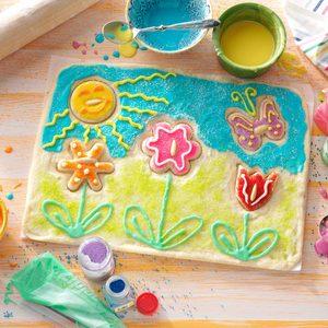 Spring Garden Cookie Puzzle