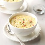Spring Onion Pimiento Cheese Grits