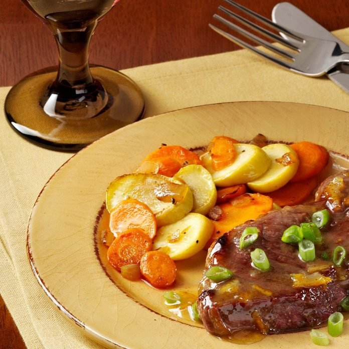 Squash & Carrot Saute