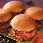 Squirmy Wormy Sandwiches