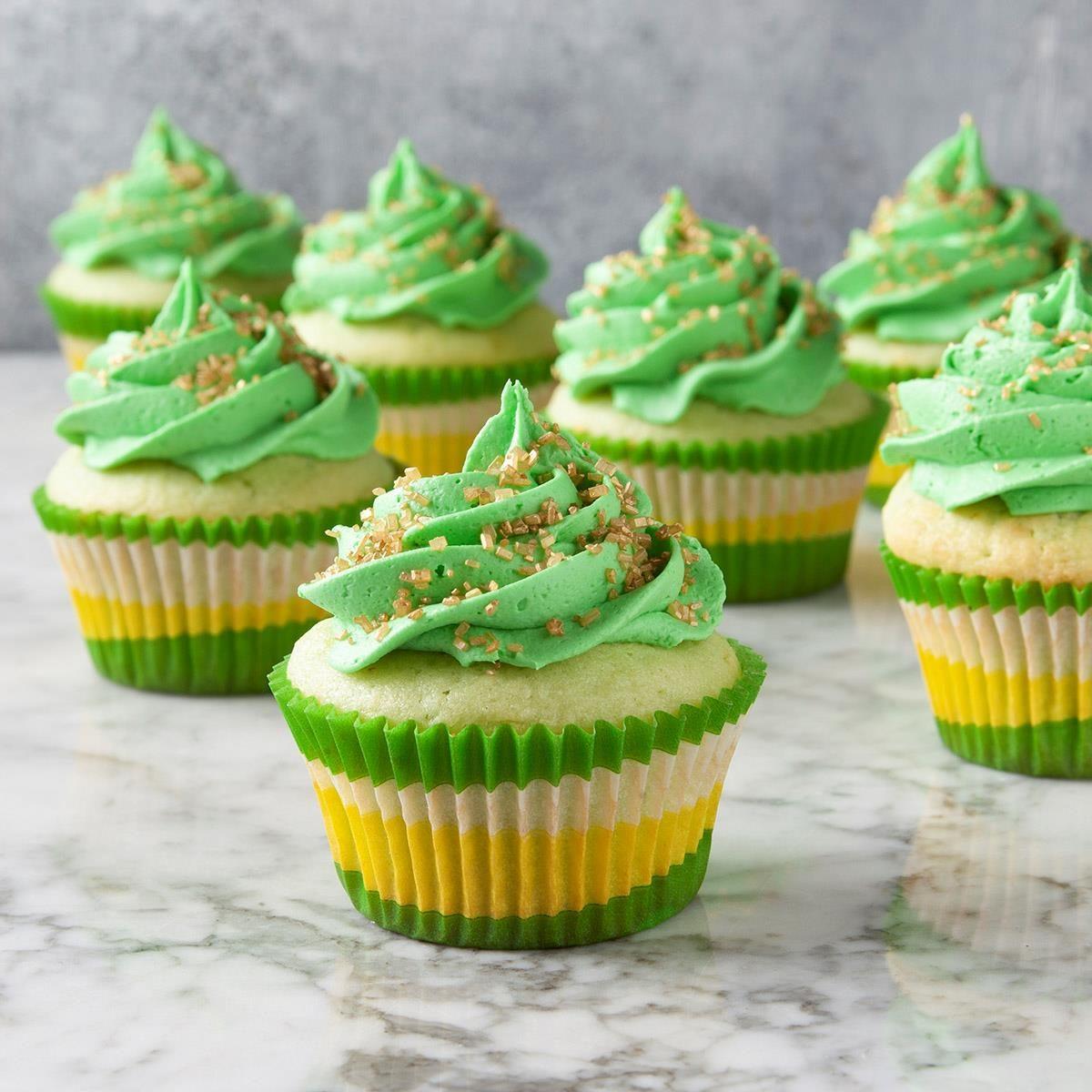 St. Patrick's Day Cupcakes Recipe