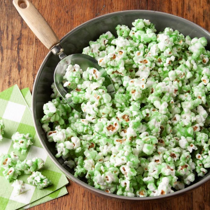 St. Patrick's Day Popcorn