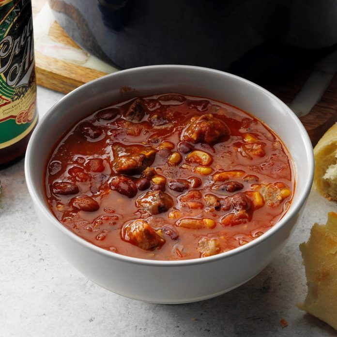 Steak & Beer Chili