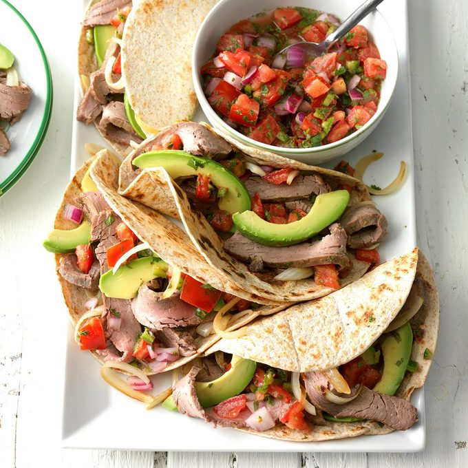 Inspired By: Grilled Steak Soft Tacos