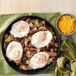 Steak & Mushroom Breakfast Hash