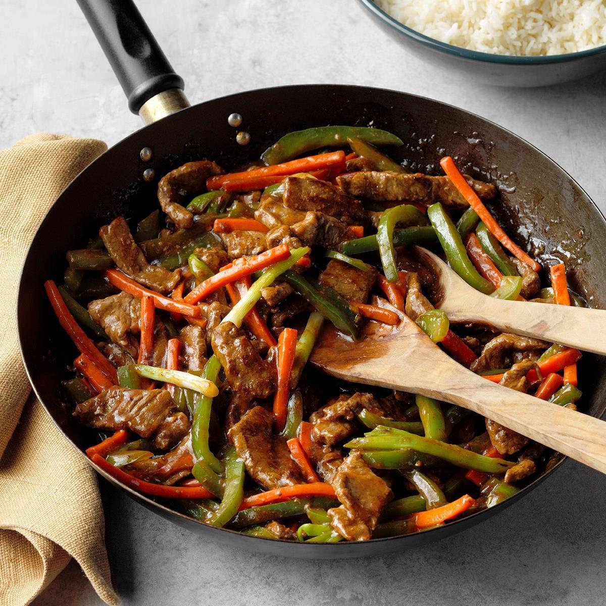 Steak Stir Fry Recipe Taste Of Home