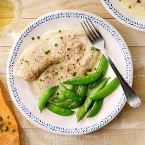 Steamed Tilapia in Wine Sauce