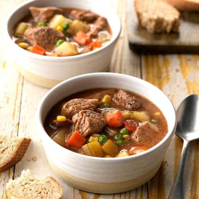 Stephanie's Slow-Cooker Stew