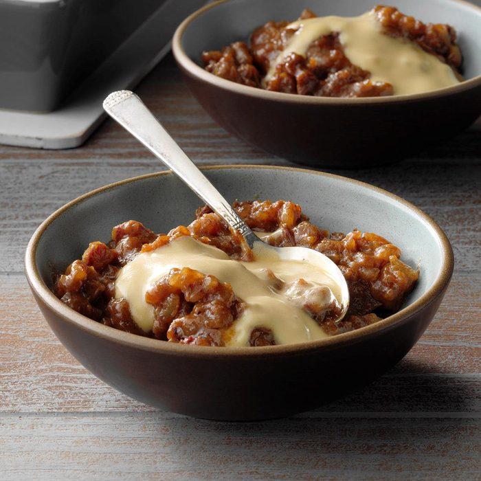 Sticky Toffee Rice Pudding With Caramel Cream Exps Hbmz19 59018 E06 21 2b 10