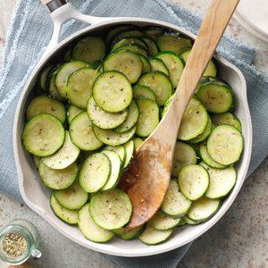 Stir-Fried Zucchini