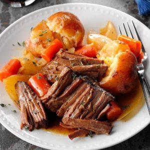 Stout & Honey Beef Roast