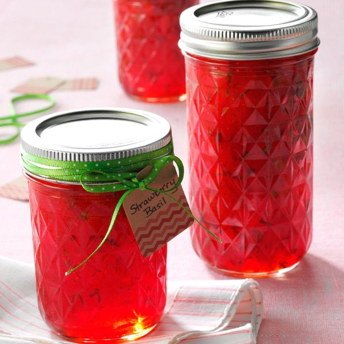 Strawberry Basil Jam