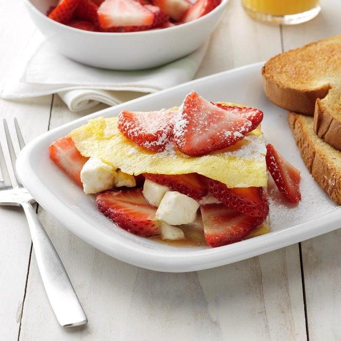 Strawberry Bliss Omelet