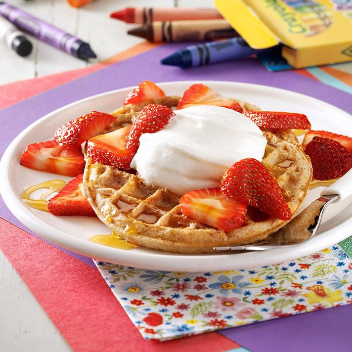 Inspired by: Strawberry Waffle