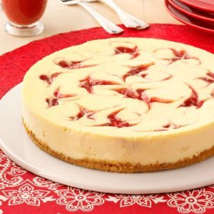 Strawberry Cheesecake Swirl