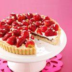 Strawberry Ginger Tart
