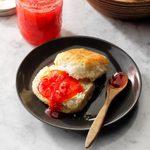 Strawberry Jam in a Jiffy
