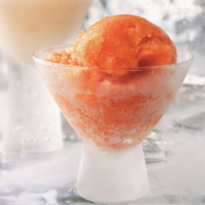 Strawberry Mango Sorbet