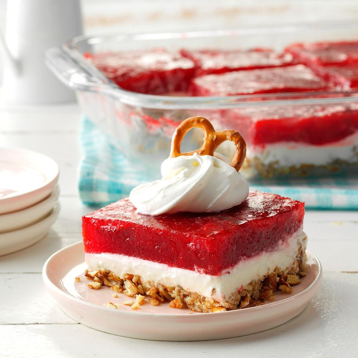 Strawberry Pretzel Dessert Recipe How To Make It Taste Of Home