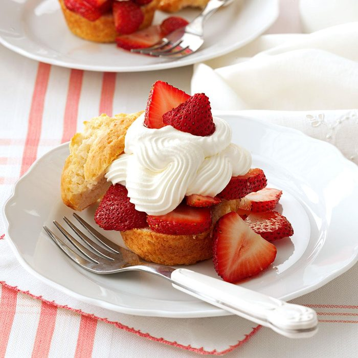 Now: Strawberry Shortcake Cups