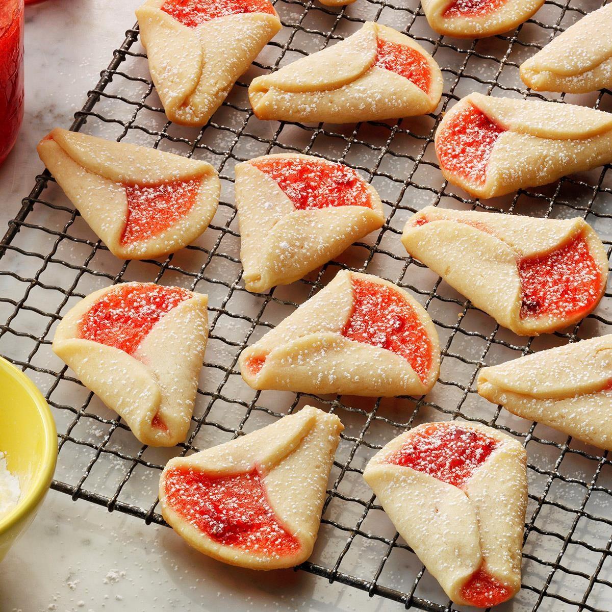 Strawberry Wedding Bell Cookies