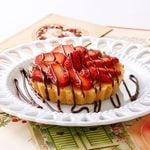 Strawberry White Chocolate Tarts