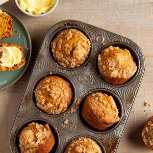 Streusel Pumpkin Muffins