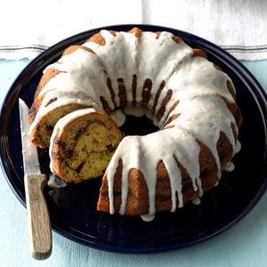 Streuseled Zucchini Bundt Cake