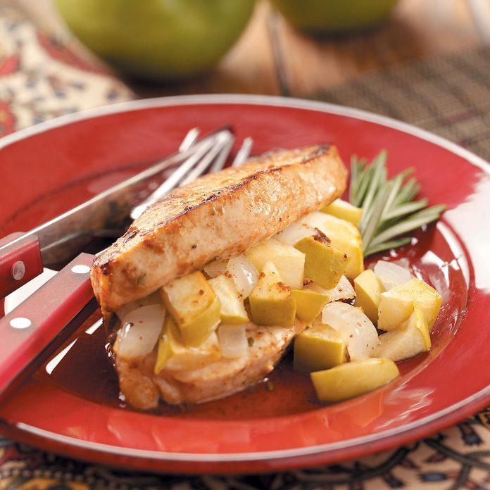 Stuffed Apple Pork Chops