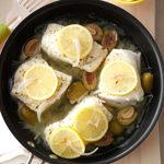Stuffed-Olive Cod