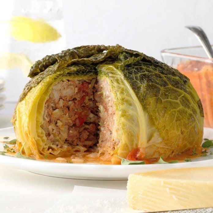 Stuffed Whole Cabbage