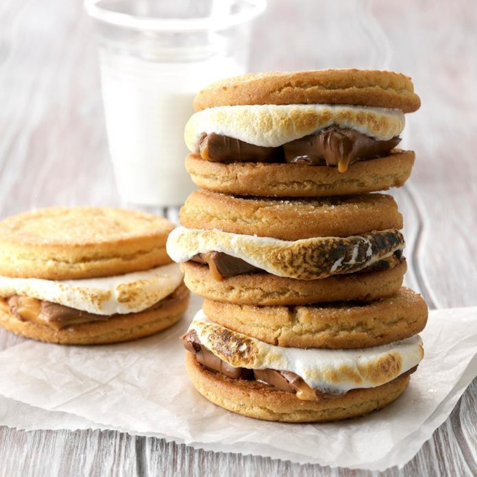 Sugar Cookie S'mores