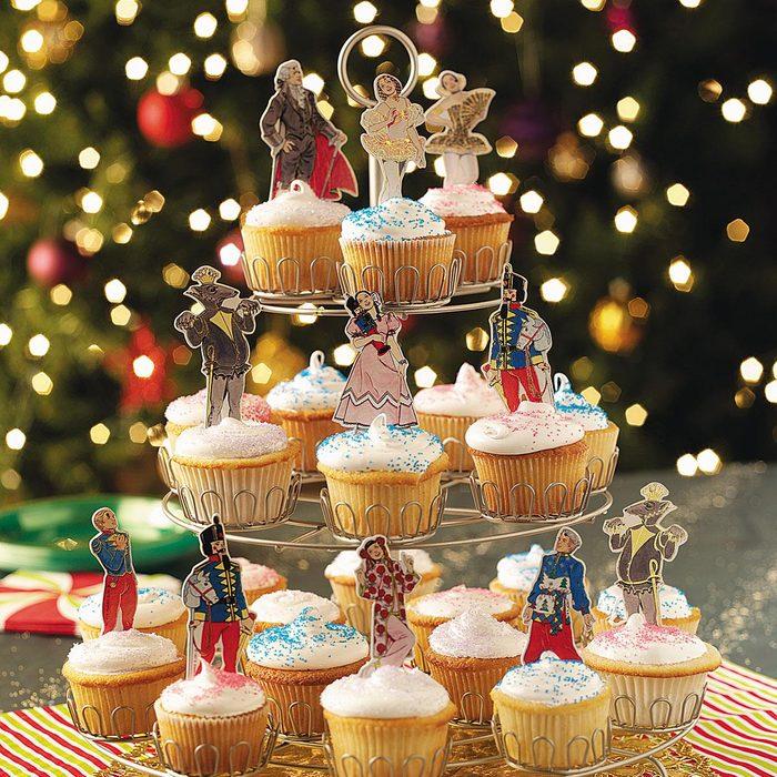 Sugar Plum Fairy Cupcakes