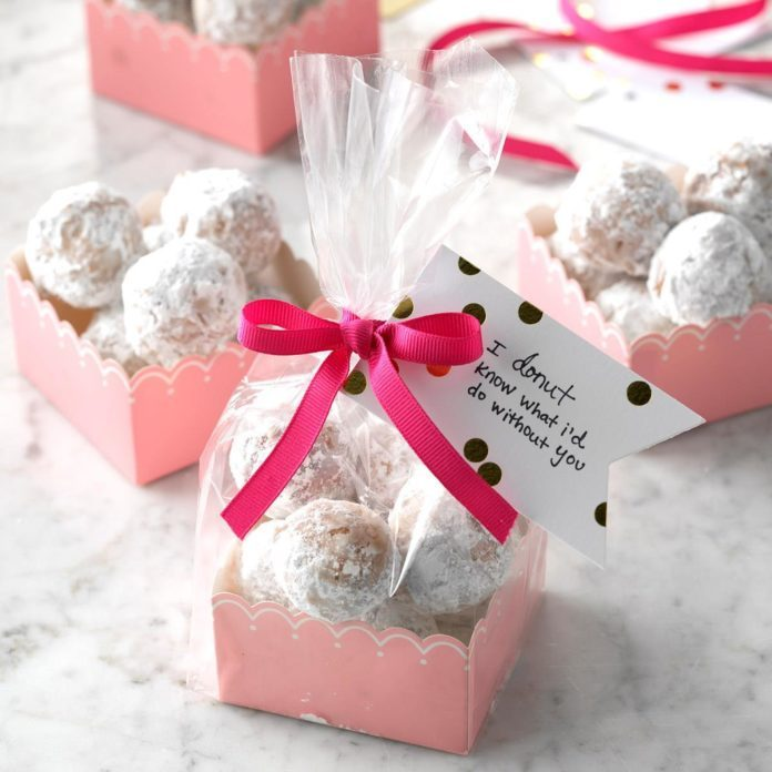 Sugared Doughnut Holes