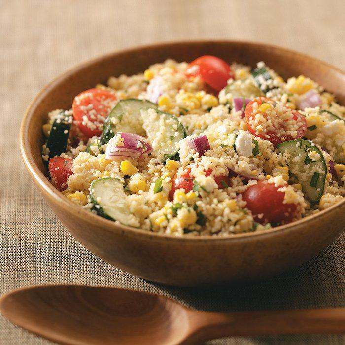 Summer Garden Couscous Salad
