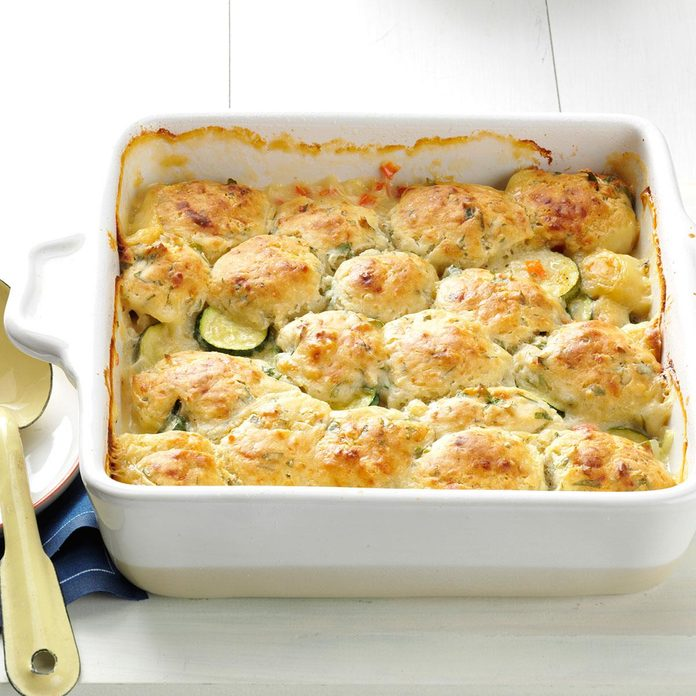 Summer Vegetable Cobbler