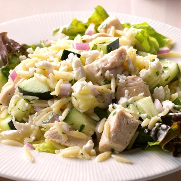 Day 27: Summertime Orzo & Chicken