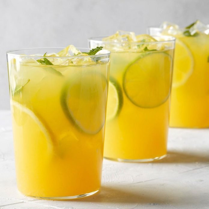 Summertime Tea with Tequila