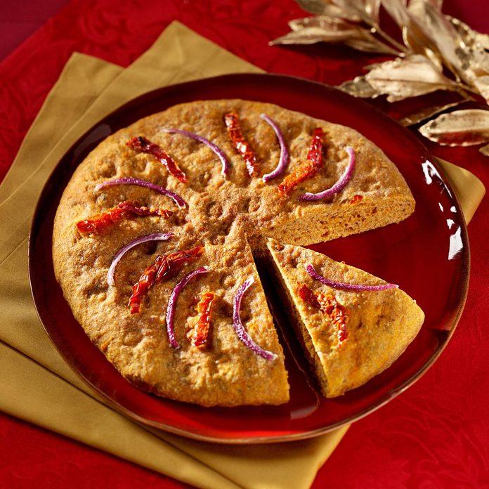 Sun-Dried Tomato Focaccia