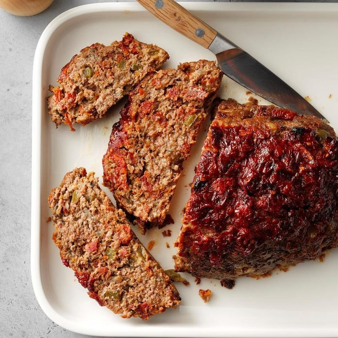 Sun-Dried Tomato Meat Loaf