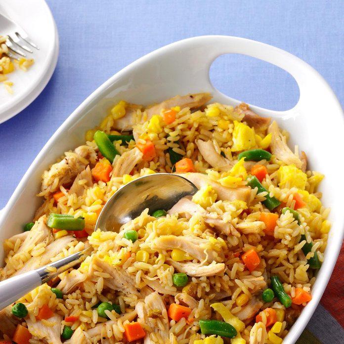 Super Quick Chicken Fried Rice