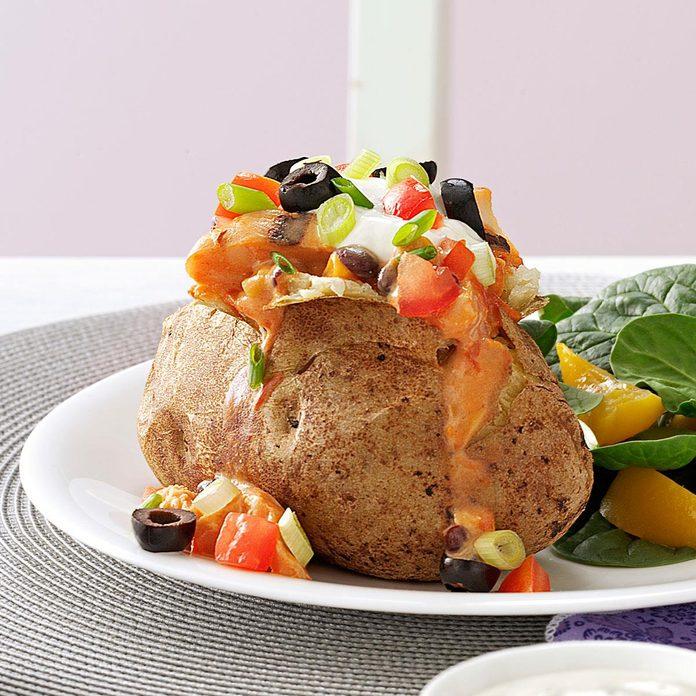 Super-Stuffed Mexican Potatoes