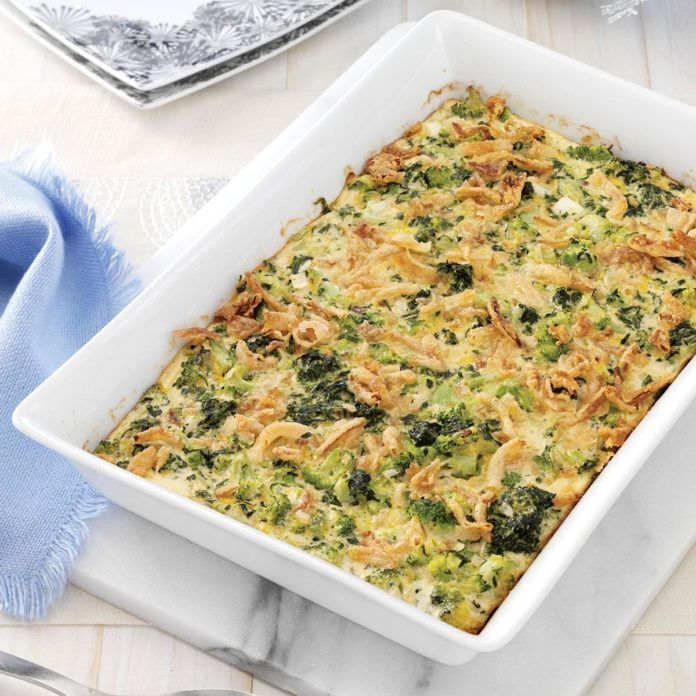 Supreme Green Vegetable Bake