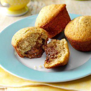 Surprise Banana Muffins