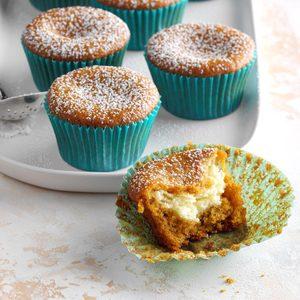 Surprise Pumpkin Cupcakes