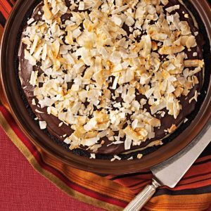 Susie's Dark Chocolate-Coconut Pie