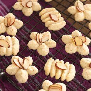 Swedish Almond Spritz Cookies
