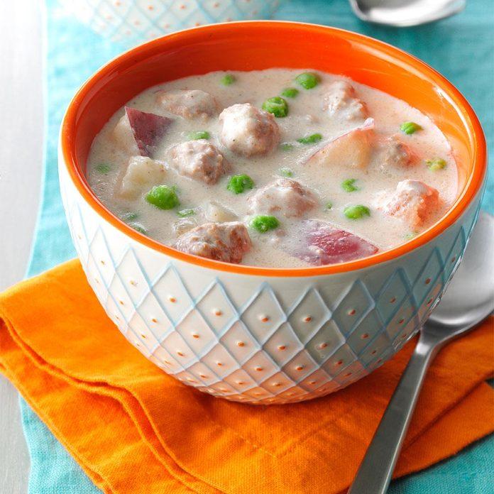 Swedish Meatball Soup